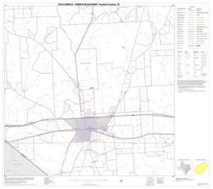 Primary view of object titled '2010 Census County Block Map: Fayette County, Block 15'.