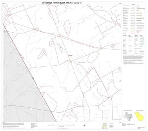 Primary view of object titled '2010 Census County Block Map: Bee County, Block 9'.