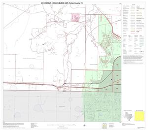 Primary view of object titled '2010 Census County Block Map: Potter County, Block 14'.