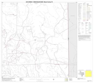 Primary view of object titled '2010 Census County Block Map: Mason County, Block 8'.