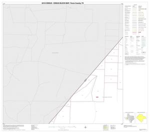 Primary view of object titled '2010 Census County Block Map: Pecos County, Block 12'.