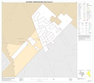Primary view of object titled '2010 Census County Block Map: Brazos County, Inset D01'.