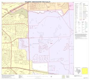 Primary view of object titled '2010 Census County Block Map: Dallas County, Block 35'.