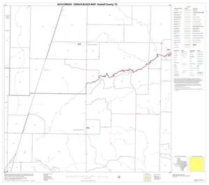 Primary view of object titled '2010 Census County Block Map: Haskell County, Block 7'.