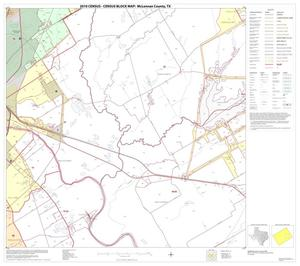 Primary view of object titled '2010 Census County Block Map: McLennan County, Block 13'.