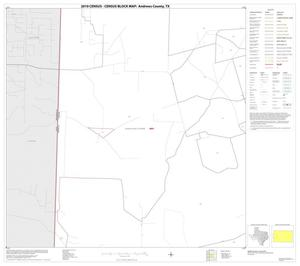 Primary view of object titled '2010 Census County Block Map: Andrews County, Block 6'.