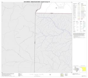 Primary view of object titled '2010 Census County Block Map: Crockett County, Block 30'.