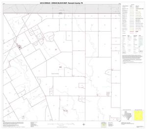 Primary view of object titled '2010 Census County Block Map: Runnels County, Block 2'.