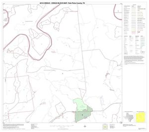 Primary view of object titled '2010 Census County Block Map: Palo Pinto County, Block 12'.