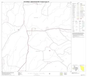 Primary view of object titled '2010 Census County Block Map: Presidio County, Block 50'.
