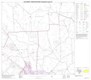 Primary view of object titled '2010 Census County Block Map: Washington County, Block 17'.