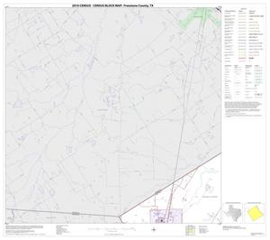 Primary view of object titled '2010 Census County Block Map: Freestone County, Block 3'.