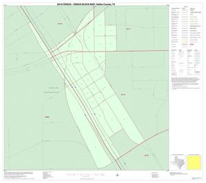 Primary view of object titled '2010 Census County Block Map: Dallas County, Inset B01'.