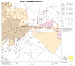 Primary view of object titled '2010 Census County Block Map: Val Verde County, Block 81'.