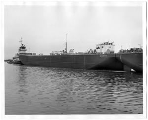 Primary view of object titled '[ESSO Barge No. 30]'.