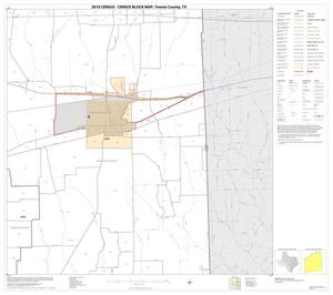 Primary view of object titled '2010 Census County Block Map: Fannin County, Block 11'.