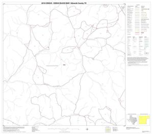 Primary view of object titled '2010 Census County Block Map: Edwards County, Block 9'.