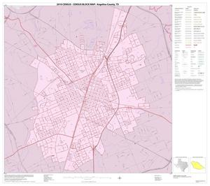 Primary view of object titled '2010 Census County Block Map: Angelina County, Inset C01'.