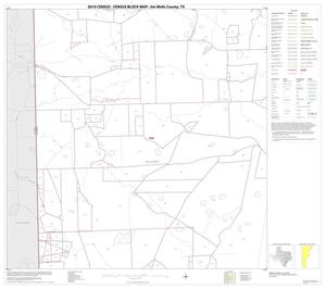Primary view of object titled '2010 Census County Block Map: Jim Wells County, Block 14'.