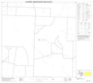 Primary view of object titled '2010 Census County Block Map: Dallam County, Block 10'.