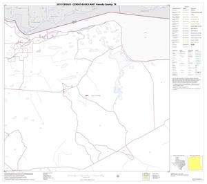 Primary view of object titled '2010 Census County Block Map: Kenedy County, Block 3'.