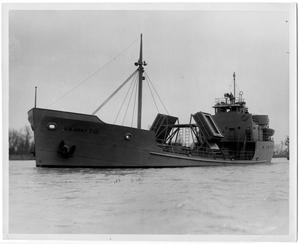 Primary view of object titled '[U.S. Army Y-13 Oil Tanker]'.