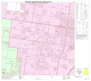 Primary view of object titled '2010 Census County Block Map: Hidalgo County, Block 76'.