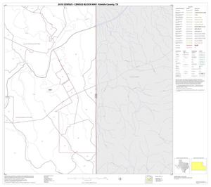 Primary view of object titled '2010 Census County Block Map: Kimble County, Block 10'.