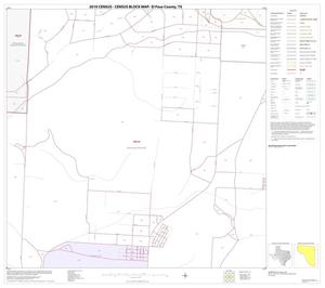 Primary view of object titled '2010 Census County Block Map: El Paso County, Block 29'.