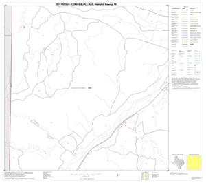 Primary view of object titled '2010 Census County Block Map: Hemphill County, Block 5'.
