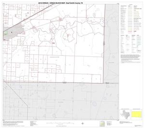 Primary view of object titled '2010 Census County Block Map: Deaf Smith County, Block 12'.