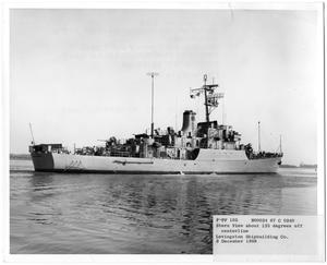 Primary view of object titled '[Patrol Escort Vessel No. FPF-105]'.