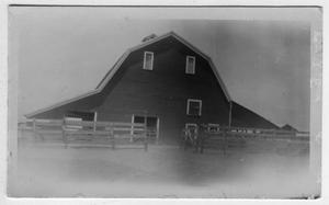 Primary view of object titled '[Hamlyn Morgan Farm in east of Lewisville]'.