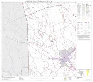 Primary view of object titled '2010 Census County Block Map: Newton County, Block 4'.