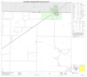 Primary view of object titled '2010 Census County Block Map: Sherman County, Block 3'.