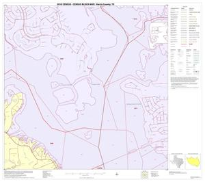 Primary view of object titled '2010 Census County Block Map: Harris County, Block 58'.