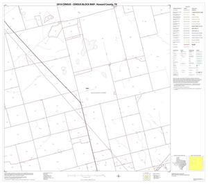 Primary view of object titled '2010 Census County Block Map: Howard County, Block 6'.