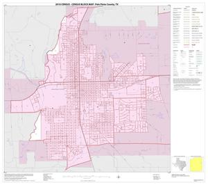 Primary view of object titled '2010 Census County Block Map: Palo Pinto County, Inset B01'.