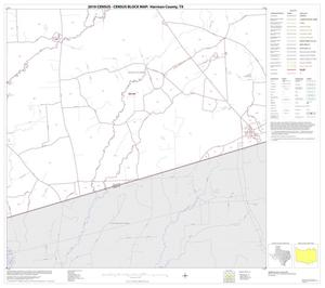 Primary view of object titled '2010 Census County Block Map: Harrison County, Block 19'.