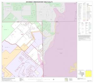 Primary view of object titled '2010 Census County Block Map: Dallas County, Block 9'.