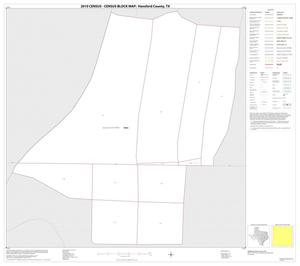 Primary view of object titled '2010 Census County Block Map: Hansford County, Inset E01'.