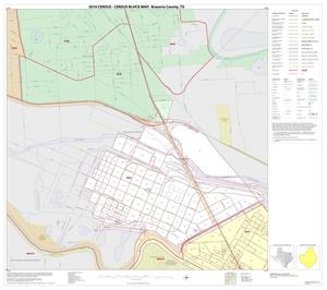 Primary view of object titled '2010 Census County Block Map: Brazoria County, Inset V01'.