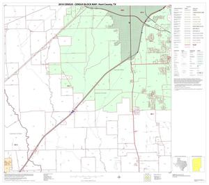 Primary view of object titled '2010 Census County Block Map: Hunt County, Block 14'.
