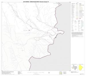 Primary view of object titled '2010 Census County Block Map: Brewster County, Block 87'.