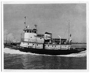 Primary view of object titled '[Photograph of Esso Tug No. 20]'.