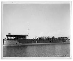 "Primary view of object titled '[Drilling tender ""J.C. Craig""]'."