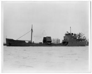 "Primary view of object titled '[Photograph of Oil tanker ""Y-13""]'."