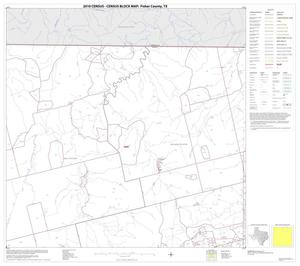 Primary view of object titled '2010 Census County Block Map: Fisher County, Block 3'.