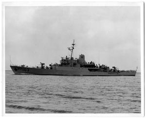 Primary view of object titled '[Patrol escort for U.S. Navy]'.