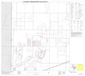 Primary view of object titled '2010 Census County Block Map: Carson County, Block 9'.